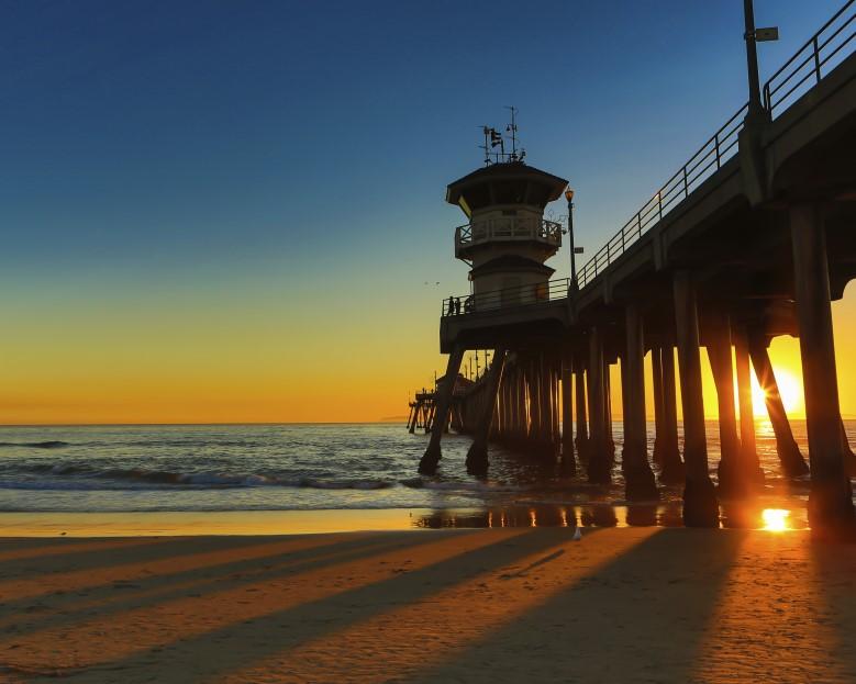 Huntington Beach Pier (Custom)